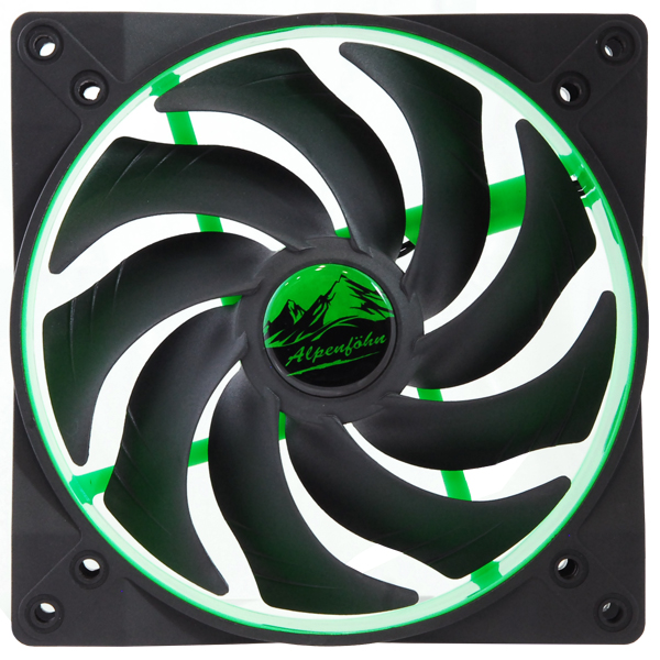 140mm Lüfter Wing Boost 2 Toxic Green